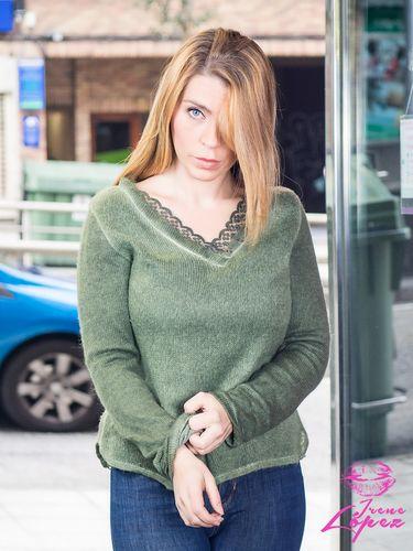 Verde-militar-Irene Lopez
